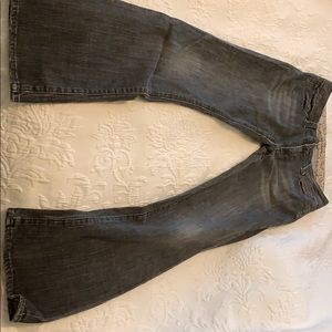 Women's Mavi black jeans